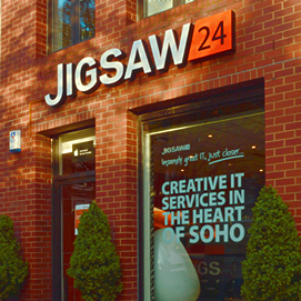 Jigsaw24 Entrance  - London Premesis